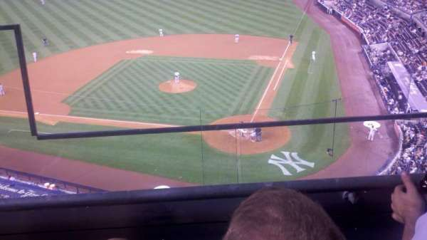 yankee stadium, secção: 321, fila: 2, lugar: 19