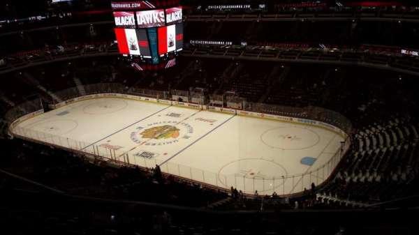 United Center, secção: 314, fila: 14