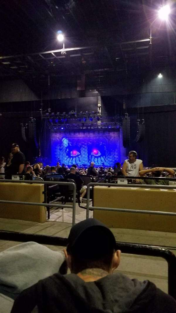 Hollywood Casino Amphitheatre (Tinley Park), secção: 204, fila: mm, lugar: 18