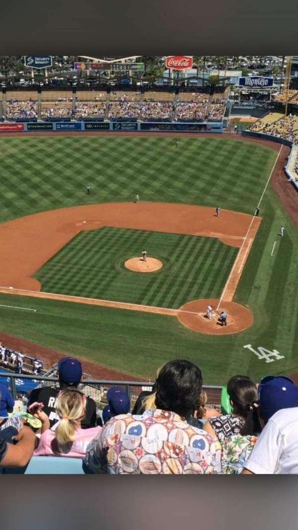 Dodger Stadium, secção: 7TD, fila: M, lugar: 11