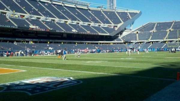 Soldier Field, secção: field, se corner