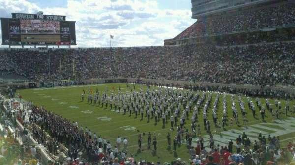Spartan Stadium, secção: 3, fila: 33, lugar: 47