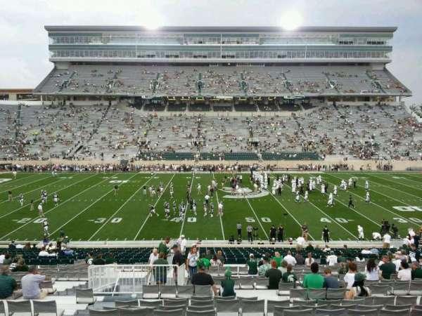 Spartan Stadium, secção: 9, fila: 41, lugar: 15