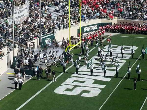 Spartan Stadium, secção: c10, fila: 10, lugar: 4
