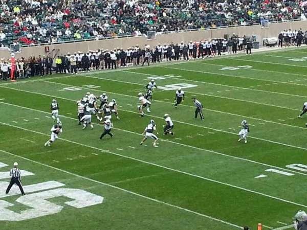 Spartan Stadium, secção: 28, fila: 45, lugar: 27