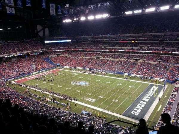 Lucas Oil Stadium, secção: 635, fila: 6, lugar: 1