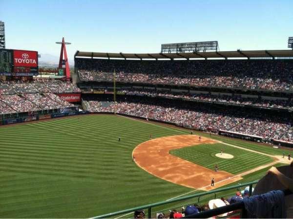 Angel Stadium, secção: V509, fila: B, lugar: 6