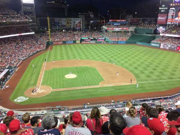 Nationals Park, secção: 318, fila: F, lugar: 16