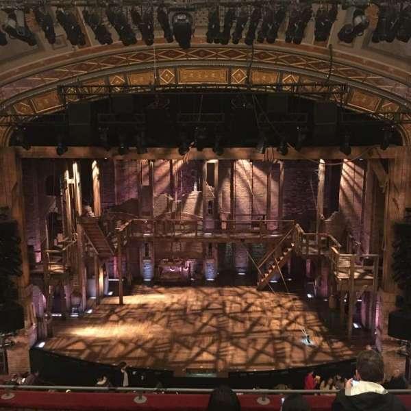 Richard Rodgers Theatre, secção: Front Mezzanine C, fila: F, lugar: 106