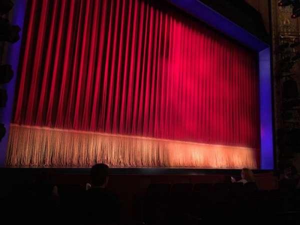 Longacre Theatre, secção: ORCHO, fila: G, lugar: 6