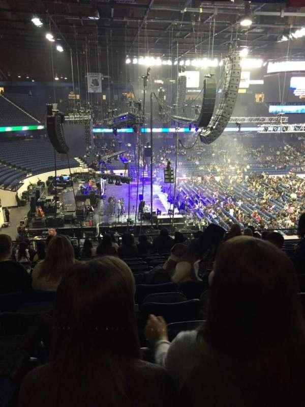 Allstate Arena, secção: 204, fila: N, lugar: 11