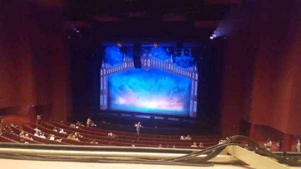San Diego Civic Theatre, secção: mezzanine, fila: O, lugar: 24