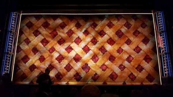 Brooks Atkinson Theatre, secção: Orchestra C, fila: h, lugar: 108