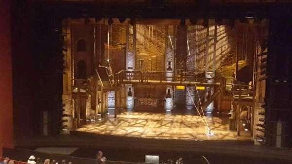 San Diego Civic Theatre, secção: mezzanine, fila: o, lugar: 10