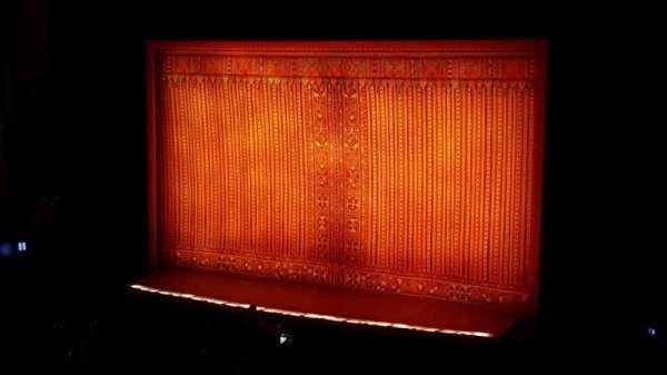 Hollywood Pantages Theatre, secção: mezz, fila: f, lugar: 2