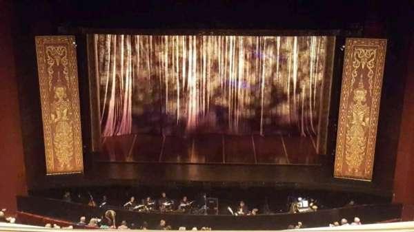 San Diego Civic Theatre, secção: balcony c, fila: r, lugar: 2