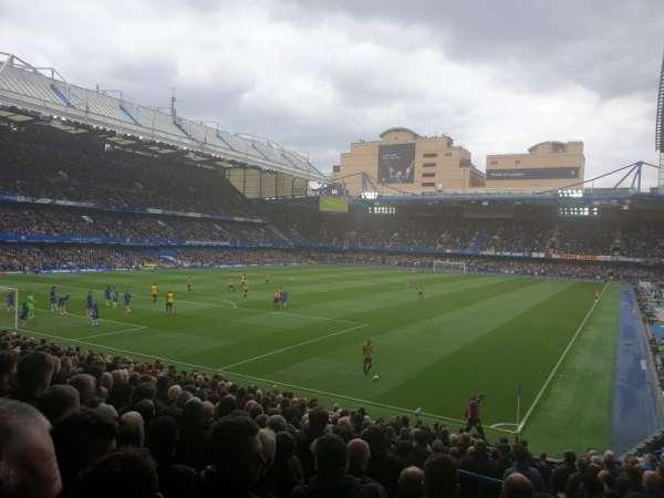 Stamford Bridge, secção: Matthew Harding Lower, fila: X, lugar: 321