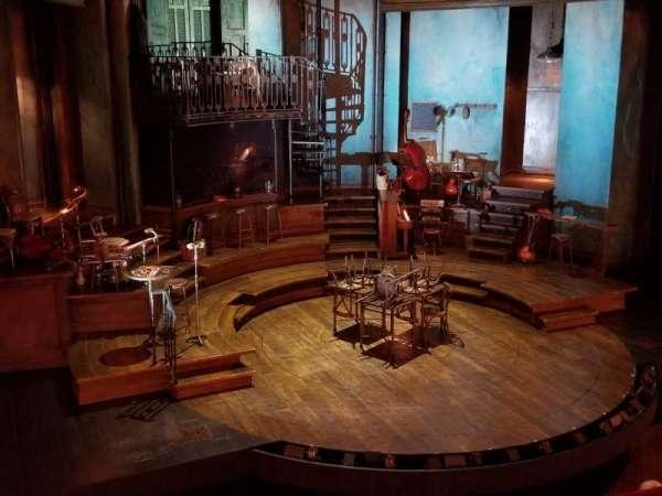 Walter Kerr Theatre, secção: Mezzanine L, fila: B, lugar: 3