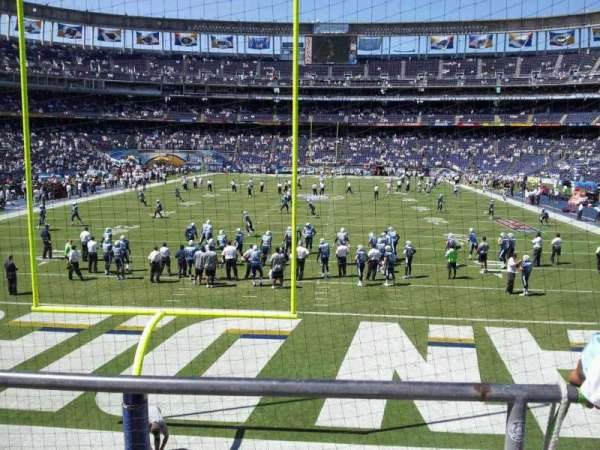 San Diego Stadium, secção: P52, fila: 3, lugar: 10