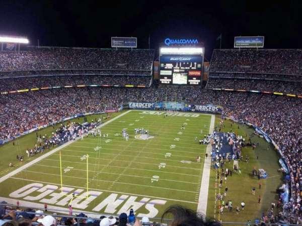 San Diego Stadium, secção: V24, fila: 10, lugar: 9