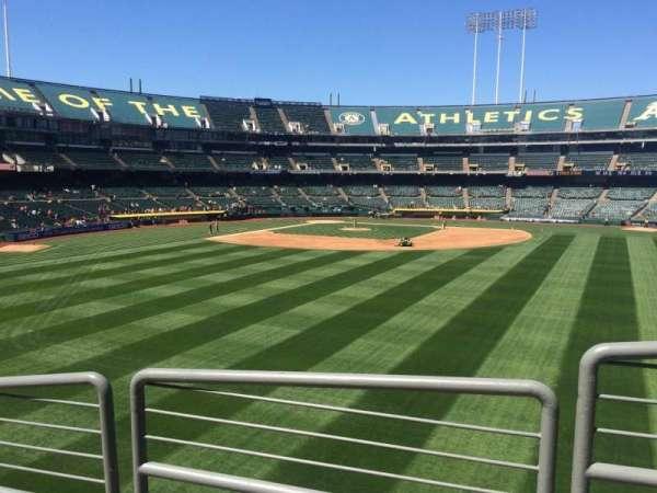 Oakland Coliseum, secção: 146, fila: 36, lugar: 9