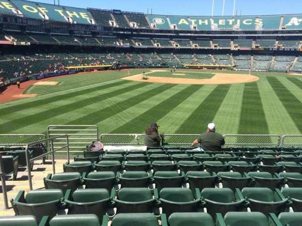 Oakland Coliseum, secção: 148, fila: 36, lugar: 14