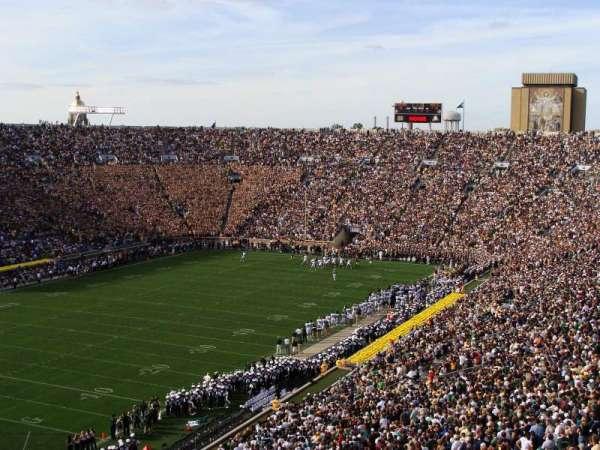Notre Dame Stadium, secção: 115, fila: 18, lugar: 16