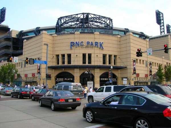 PNC Park, secção: Outside