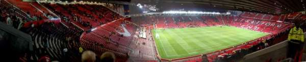 Old Trafford, secção: NE3424, fila: 31, lugar: 19