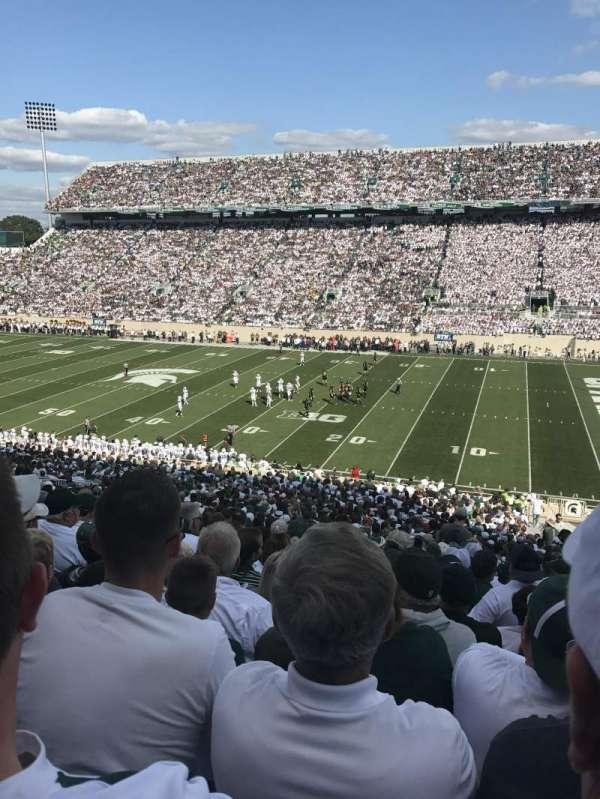 Spartan Stadium, secção: 21, fila: 53, lugar: 24