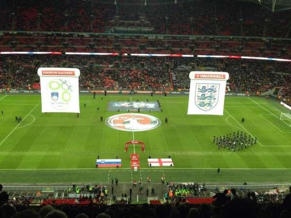 Wembley Stadium, secção: 501, fila: 18, lugar: 6