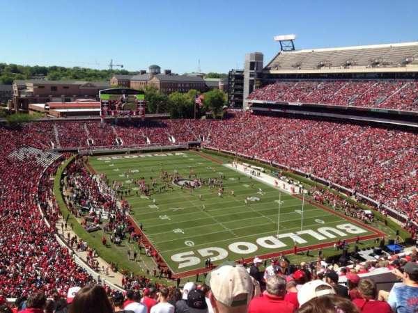 Sanford Stadium, secção: 322, fila: 21, lugar: 11