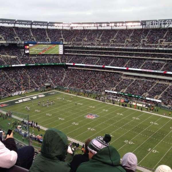 MetLife Stadium, secção: 334, fila: 8, lugar: 14