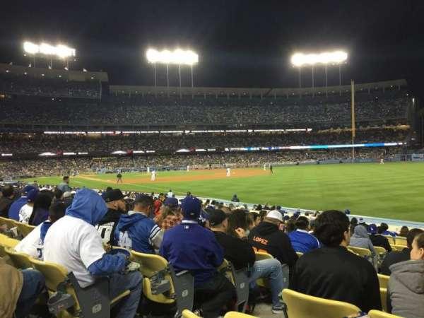 Dodger Stadium, secção: 46fd, fila: N, lugar: 3