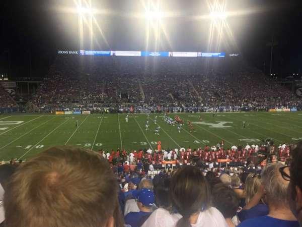 LaVell Edwards Stadium, secção: 7, fila: 30, lugar: 6