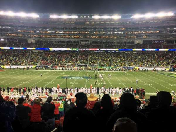 Levi's Stadium, secção: C114, fila: 33, lugar: 10