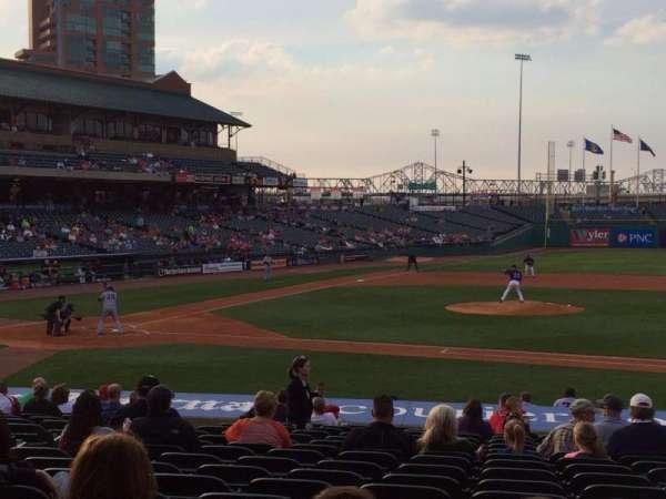 Louisville Slugger Field, secção: 110, fila: V, lugar: 12