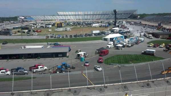 Dover International Speedway, secção: 134, fila: 25
