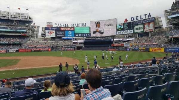 Yankee Stadium, secção: 115, fila: 7, lugar: 9