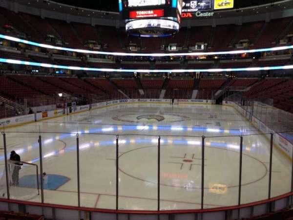 Honda Center, secção: 228, fila: K, lugar: 5
