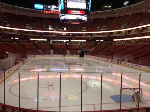 Honda Center, secção: 202, fila: K, lugar: 5