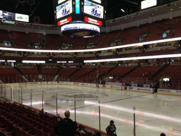 Honda Center, secção: 219, fila: K, lugar: 7
