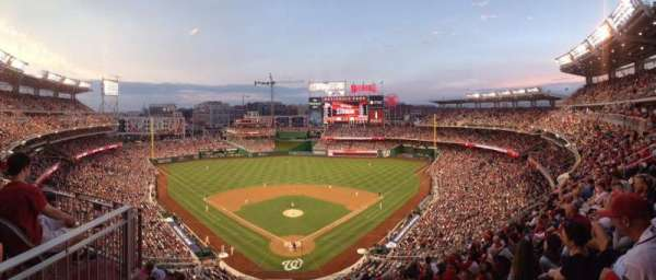 Nationals Park, secção: 314