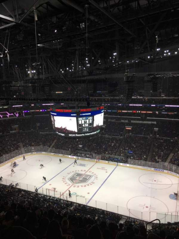 Staples Center, secção: 316, fila: 12, lugar: 5