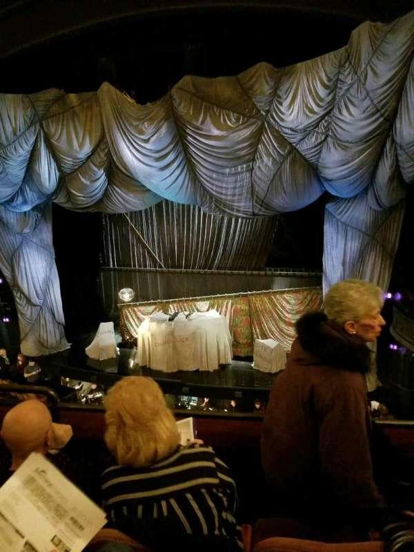 Majestic Theatre, secção: Front Mezzanine R, fila: C, lugar: 6