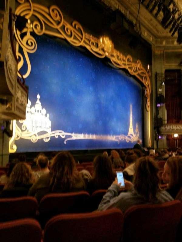 Broadhurst Theatre, secção: Orchestra L, fila: K, lugar: 21