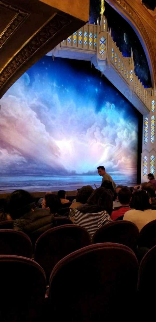 Eugene O'Neill Theatre, secção: Orchestra L, fila: K, lugar: 25