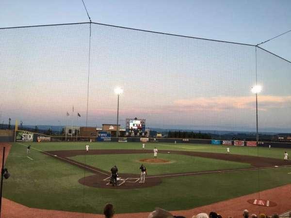 Monongalia County Ballpark, secção: 106, fila: K, lugar: 4