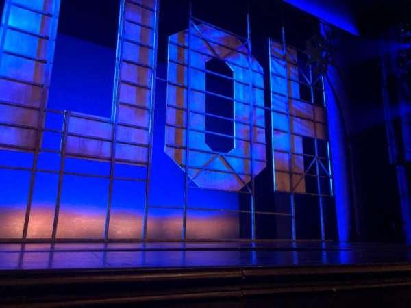 Nederlander Theatre, secção: Orchestra C, fila: A, lugar: 113