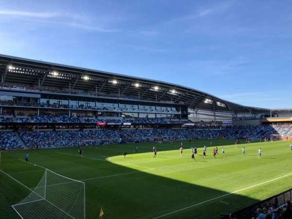 Allianz Field, secção: 18, fila: 6, lugar: 11